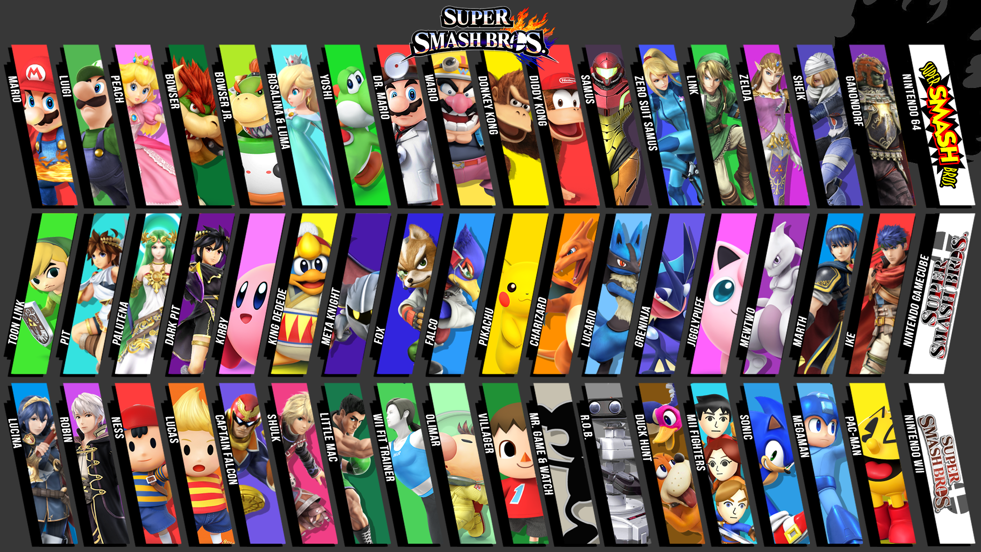 super smash bros wallpaper 1080p