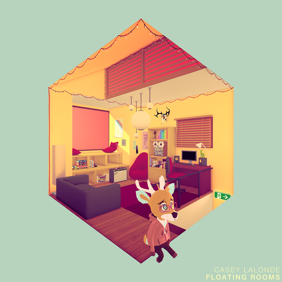 NEW ALBUM: Floating Rooms by CaseyLaLonde