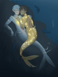 Castle Swimmer by SaGcast