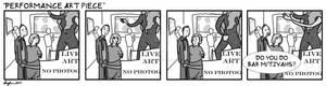 Performance Art Piece comic