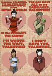Avatar TLA Valentine's Day Cards