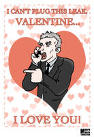 Malcolm Tucker Valentine's Day Card by morphmaker
