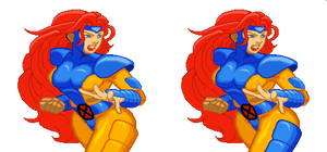 Jean Grey for XMvSF Style by TopperX