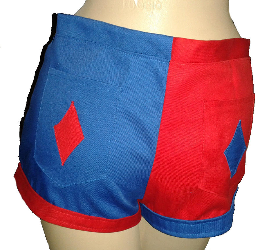 Harley Quinn shorts by The-Rubber-Pineapple on DeviantArt