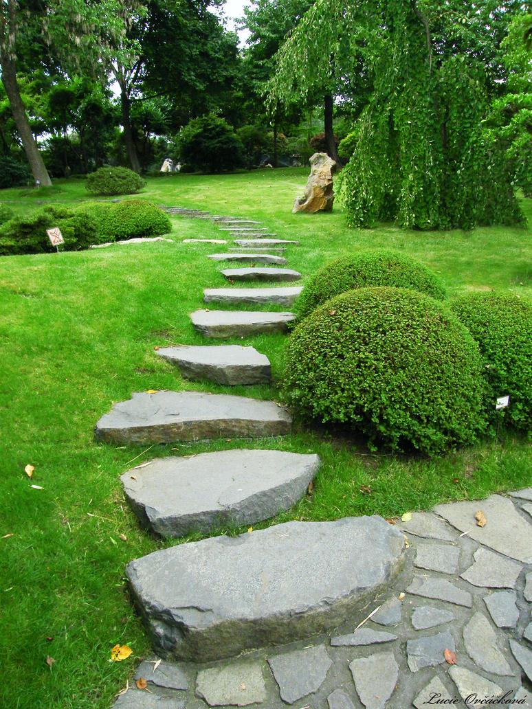 Japanese Zen Garden Path