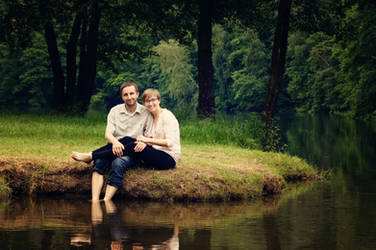 The couple by Lucie-Lilly