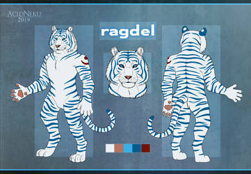 [Com.] ragdel Ref-Sheet by AcidNeku
