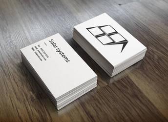 Solar systems  logo design + bussines cards by Graphant-BG