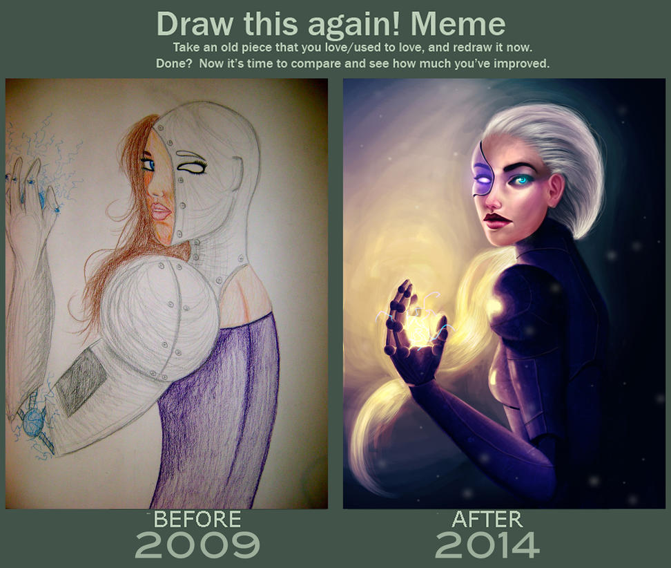 Draw Again Meme New Life by KyleeSaige