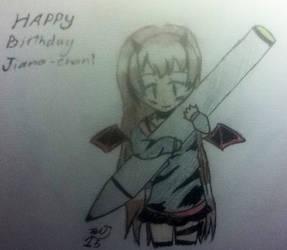 Happy Birthday Jiana-chan!