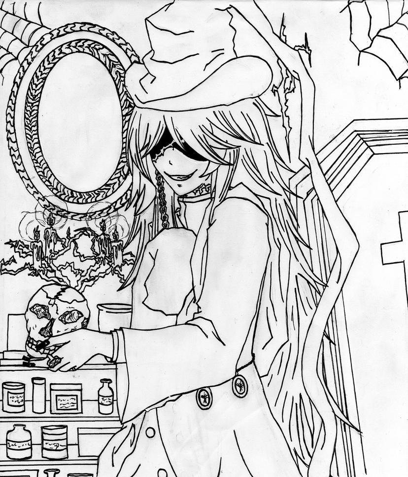 undertaker coloring pages
