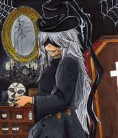 Kuroshitsuji Undertaker color by DeidaraGirl91