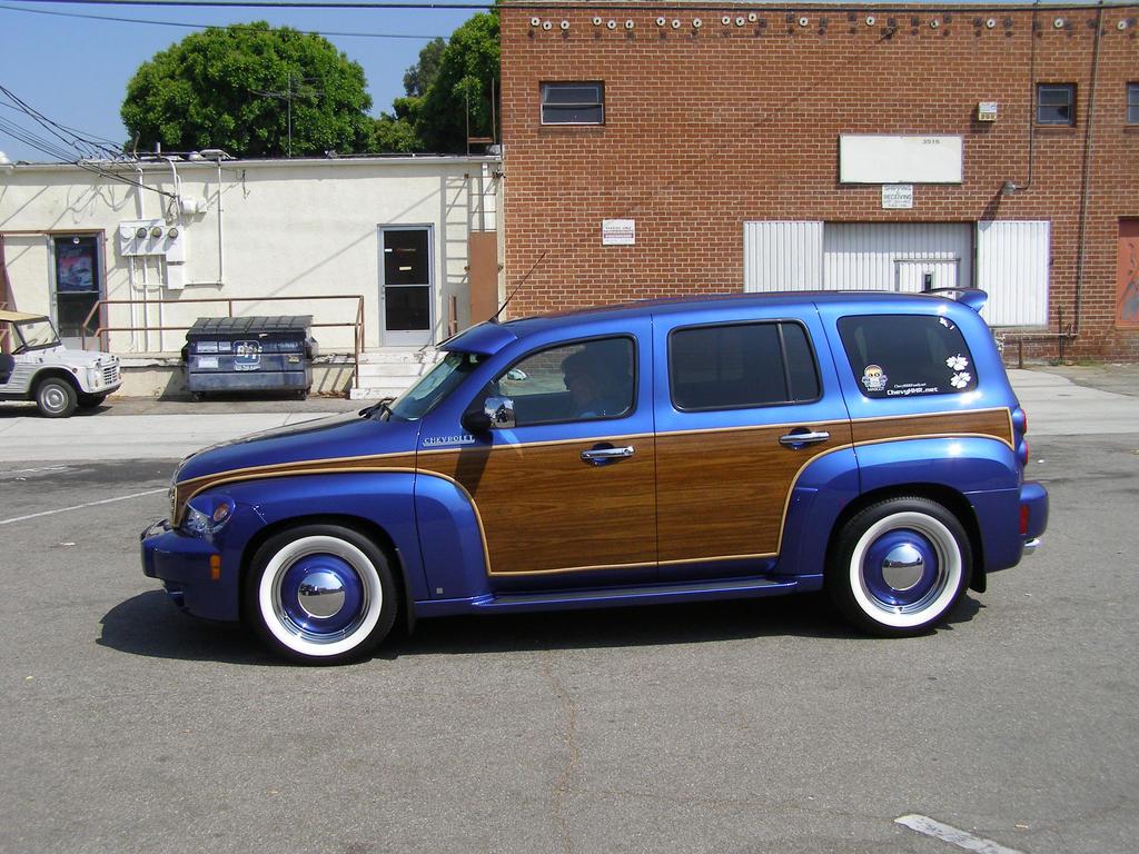 Chevrolet HHR Woody by Jetster1 on DeviantArt