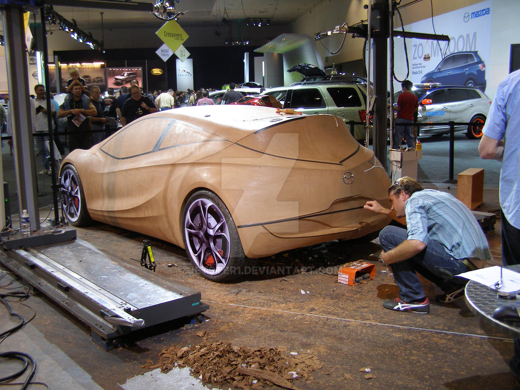 Live Auto Clay Modeling By Jetster1 On Deviantart