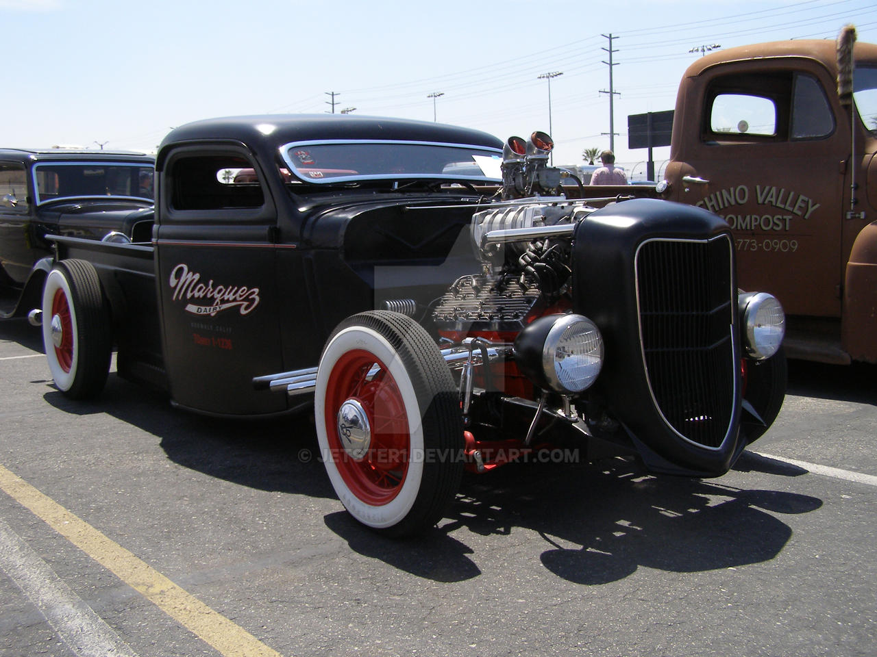Another Black Hot Rod Truck by Jetster1 on DeviantArt