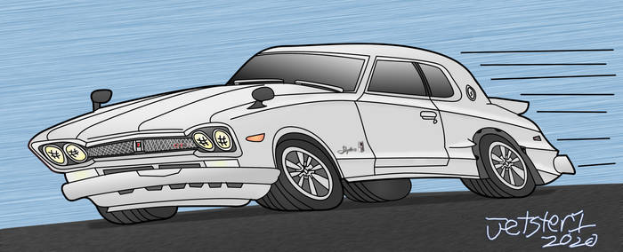 Nissan Skyline GTR 1st gen toon