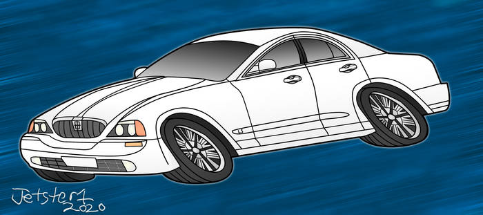 Lincoln Ls Toon