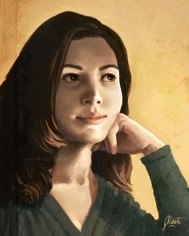 Self-Portrait by AmberDust