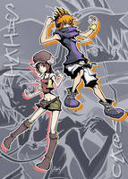 The World Ends With You by AmberDust
