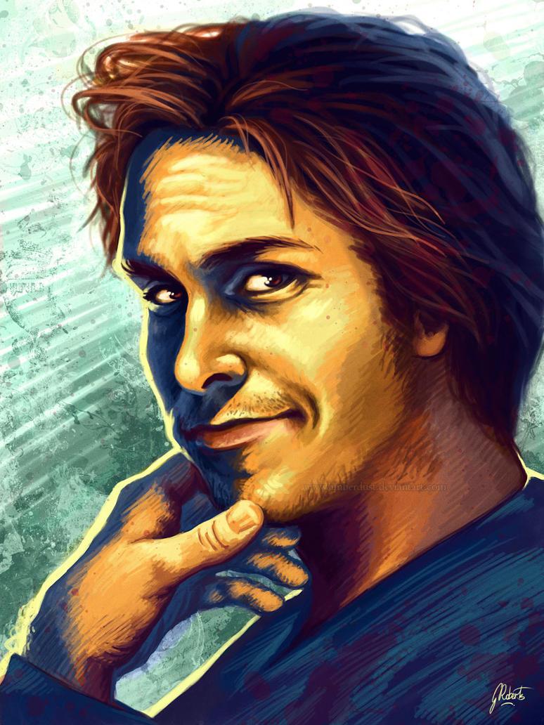 Christian Bale by *ArtByManon on deviantART | Caricature