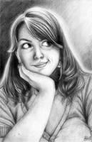 Self-Portrait II by AmberDust