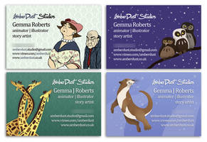 Business Cards, Please Vote by AmberDust