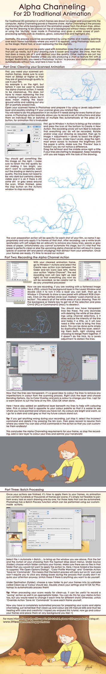 Alpha Channeling Tutorial for 2D Animation