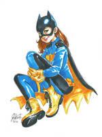 Bat Girl 02 by AmberDust