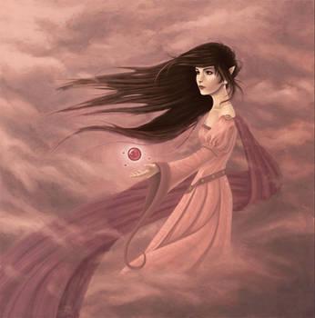Raia - Elven Summoner by AmberDust