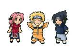 Naruto Sasuke and Sakura Chibi