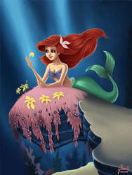 Little Mermaid: He loves me by AmberDust