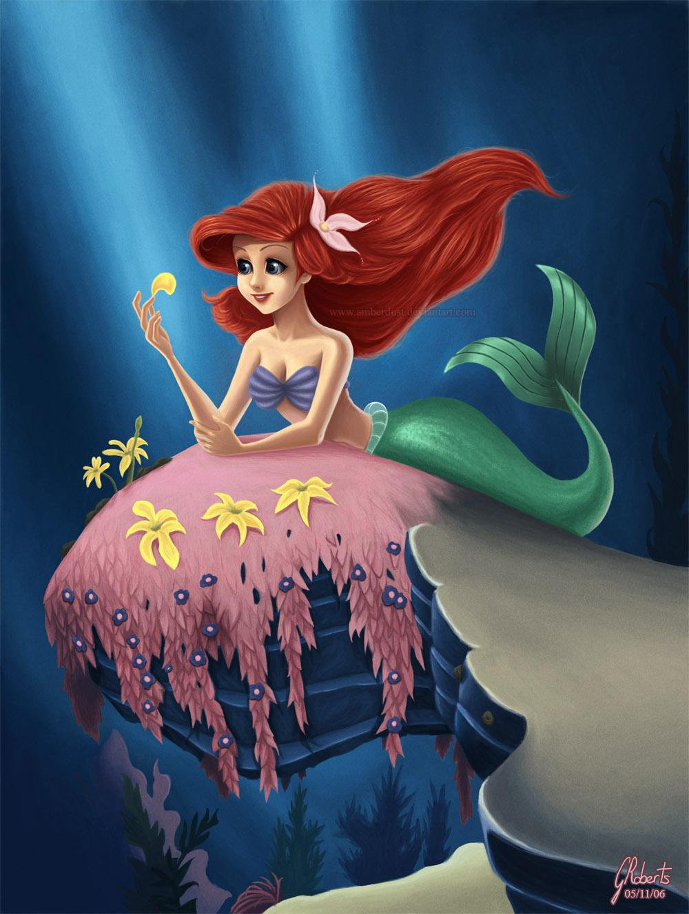 Little Mermaid: He loves me