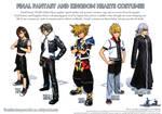 Final Fantasy Costumes Ad