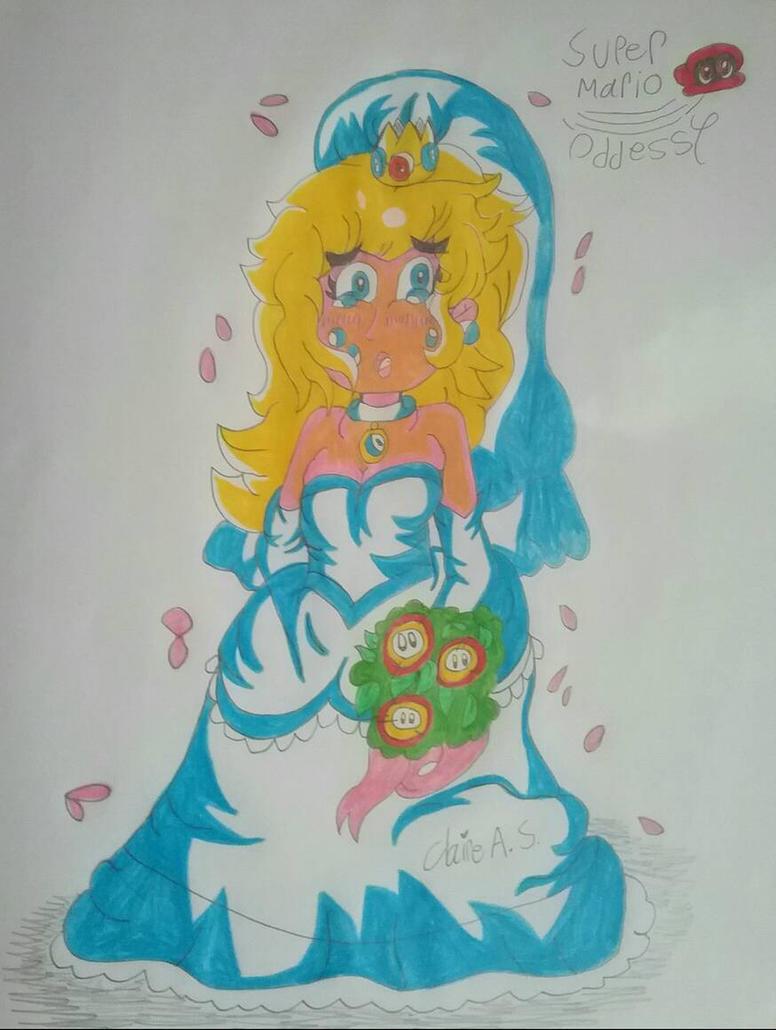 Super Mario Odyssey - Wedding Peach by Claire-Petal-Splash on DeviantArt