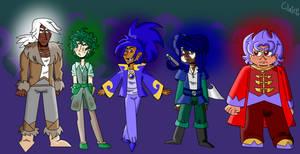 The Captured Princes of Bruneweth