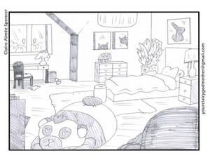 Bedroom Layout (Practice)