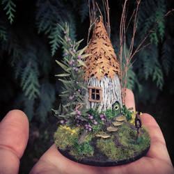 Miniature Fairy House Diorama