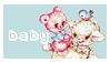 baby stamp - lamb by stargirlcaraway