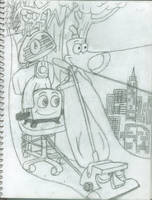 WIP: The Brave Little Toaster by maniacaldude