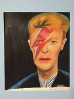 David Bowie Pastel by maniacaldude