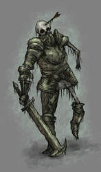 Undead Knight by Faradon