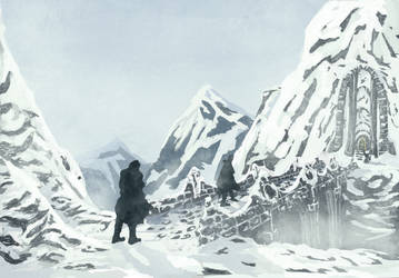 Dwarven Snow Mountain by Faradon