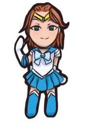 Solanum Cosplay Sailor Mercury