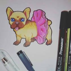 Puppy in a tutu