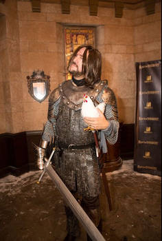 David as The Hound at Rave of Thrones