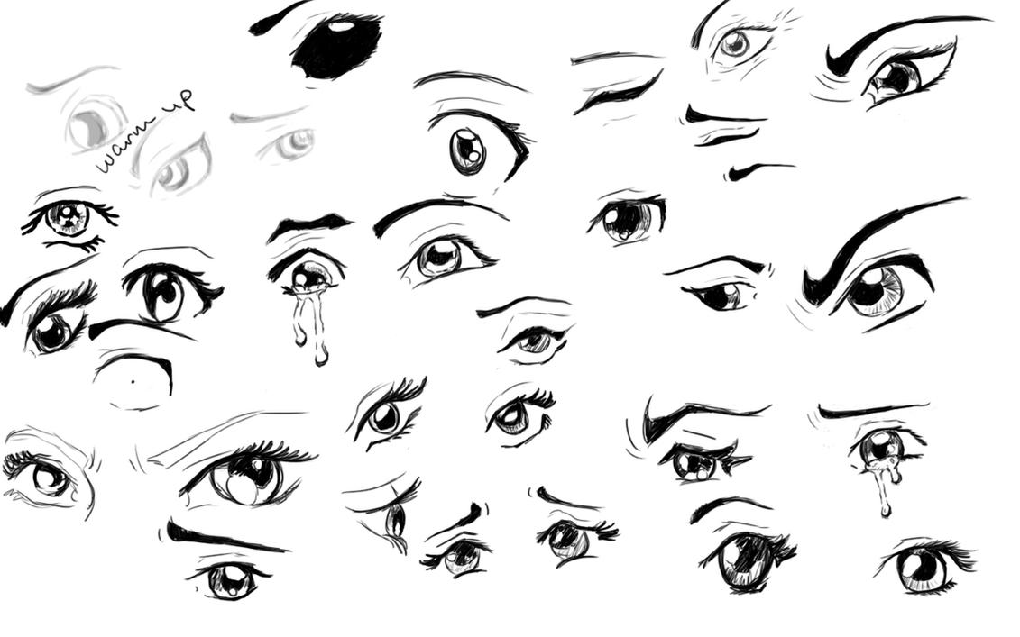 How To Draw Anime Eyes Closed Crying | www.imgkid.com ...