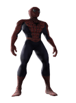 SPIDER-MAN 3 PS2 CLASSIC SUIT RENDER