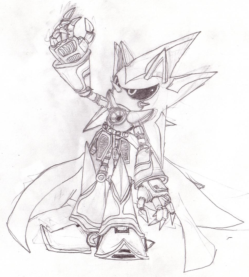neo metal sonic sketch by srb2 blade on deviantart