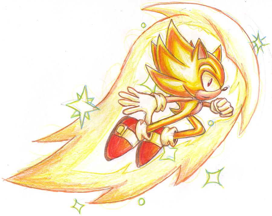 Super Sonic by SRB2-Blade on DeviantArt