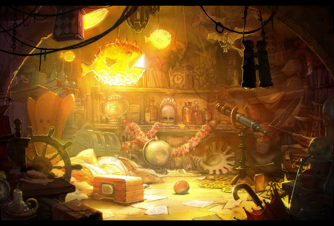 Little adventurer's treasure room by TulinovR